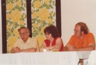 Panel with Donald Wollheim (on the left) and others