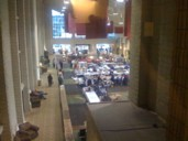 Dealers' Room from above